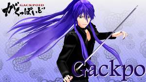 MMD Gackpo Model DL by hzeo