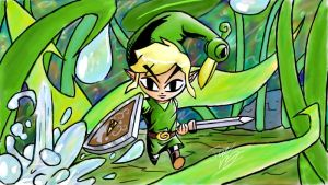 Minish Cap - Art Academy drawing by Twinkie5000