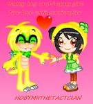 LILY X TIMMY : THE LOVE WITHOUT FRONTIER by HOBYMIITHETACTICIAN