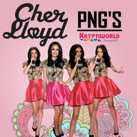 Cher Lloyd Pngs by kryptiworld