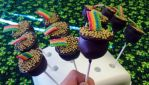 Pots of gold cake pops by SewAmusing