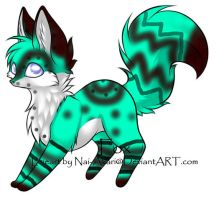 Fox Adoptable 2 by HollyberryKitteh101