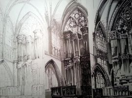 Cathedral interior by PublicEnemy95