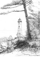 Old Lighthouse by Joilieder