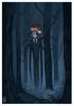 Slenderman by griffsnuff