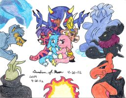 Neopet Attack by guardian-of-moon