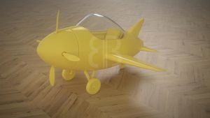 Toy Airplane by Terrance8d