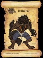 Black Fang Full Form Clrs by CdubbArt