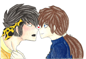 Ryoga and Ukyo AGAIN. by PunkyGothic