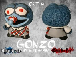Z.A.P.3 Oct 4 Gonzo the Great by zombiemonkie