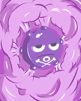 Koffing by argrim