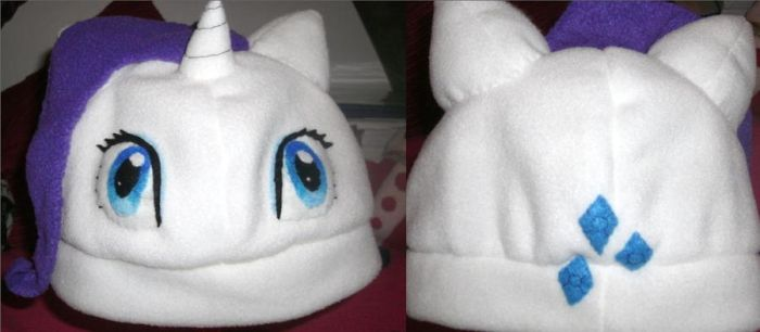Rarity Hat by hoshi-kagami
