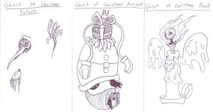 Chasseur Judge - Holiday Horror 11 - Carol Ghosts by EB-the-GAMER