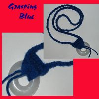 Grasping Blue by Qess