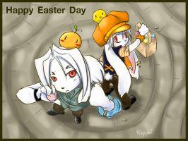 Happy Easter Day by koyubihime