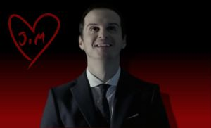Jim Moriarty Wallpaper by DeductiveAndroid