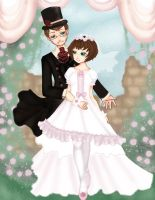 wedding bells . lolicommission by patternfactory