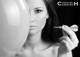 Model, Balloon and Dart 1 by Carnisch
