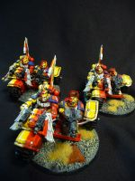 Yellow Griffon Attack bikes by Solav
