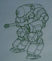 Metal Slug fan mech art by TheMuffinKingXxX