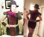 Rule 63 erron black cosplay WIP 2 by allanimerules1