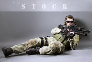 Combat Soldier STOCK X by PhelanDavion