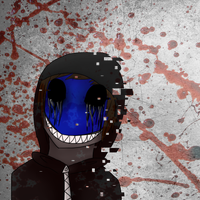 Eyeless Jack 'glitch' by toxicfox100