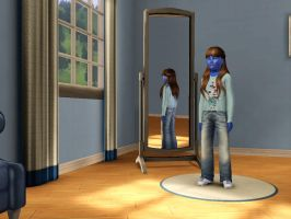 Sims 3 - Denise Nickerson in everyday outfit 3 by Magic-Kristina-KW