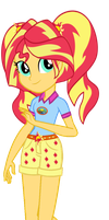 AU Camp Everfree Sunset by SunsetShimmer333