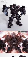 Movie accurate HFTD Ironhide by Unicron9