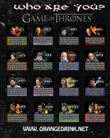 Game of Thrones MBTI Chart by MBTI-Characters