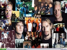 My Nickelback Desktop by Rythmicaa