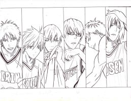 kuroko no basket in progress by HachiroAkira