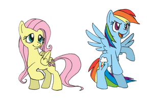 Flutters and Dash by Blayaden