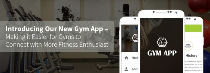 Gym Ionic App by envisionmobileapps