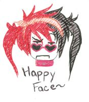 This IS My Happy Face by Neko-Fayth