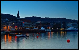 Norway - Molde by Night by AgiVega