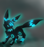 CYan as an umbreon by Pikachim-Michi