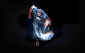 Captain American Efect done by didag12