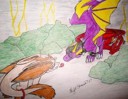 Fight entry by NightShrowd7-17