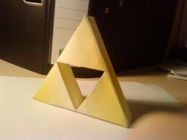 The Triforce by Kunero