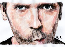 Hugh Laurie by katr14