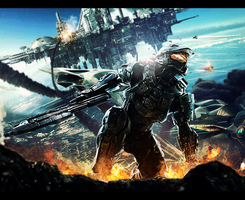 Halo Battlefield by Sikk408