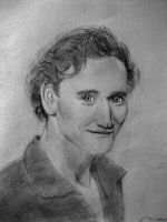 my 1st Hiddles portrait by 5akuraD1va