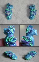 Clay seahorses by elvaniel
