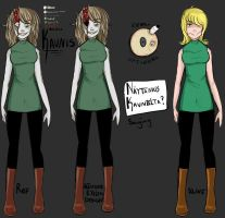Digital Kaunis Reference (Creepypasta OC) by saiyantrash666