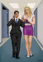 Ollie the office boy by Eves-Rib