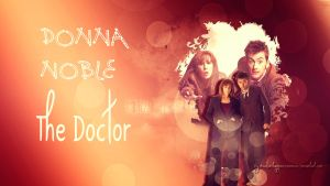 The Doctor and Donna by HappinessIsMusic