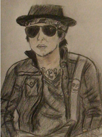 Syn Gates drawing by foREVerA7Xfan