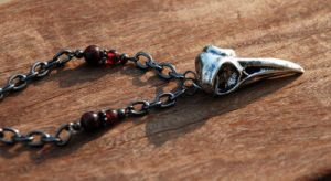 Bellatrix Lestrange Necklace by kittykat01